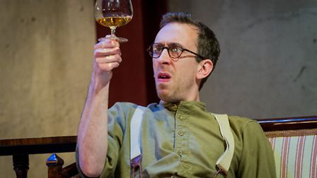 Steven Blakeley in The Roundabout at the Park Theatre. Picture: Robert Workman