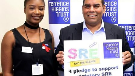 Rachel Olaoye met with MP Khalid Mahmood last week to discuss the lack of sex and relationships educ