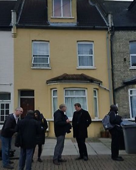 Peel Road where Daniel and Alima Borzos sublet their private rented house with no licence