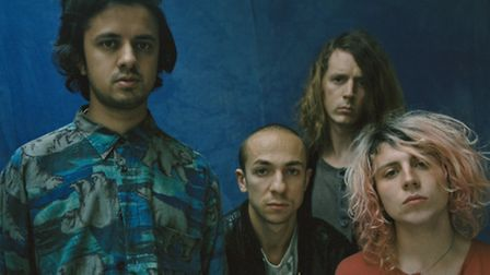 Mystery Jets. Picture: Tom Beard