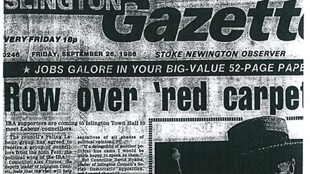 Islington Gazette: September 26, 1986