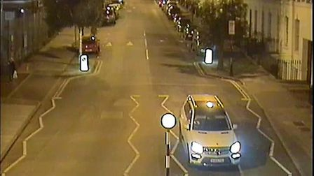 CCTV image of car police want to trace. Picture: Met Police