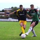 Oliver Sprague (right) is glad to be back at Hendon. (Pic: Andrew Aleksiejczuk)