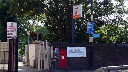 Holloway Road will be closed outside Upper Holloway station from October 21. Picture: Ewan Munro/Fli