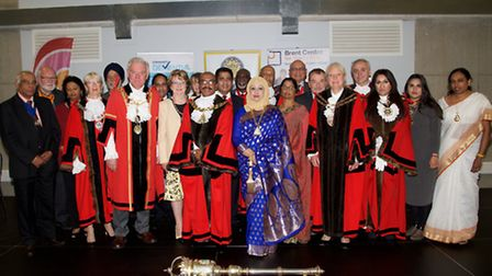 Cllr Parvez Ahmed celebrates his civic year as mayor of Brent
