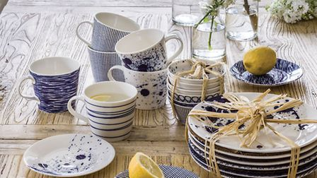 South Pacific dinnerware, �9.50 - �55 from Graham & Green
