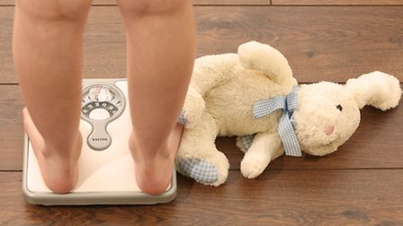 Child obesity is an issue in Brent (Pic: PA)