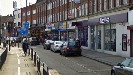 The accident happened on this section of Kingsbury Road (Pic: Google)