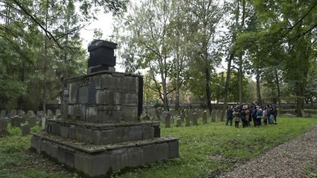 The Jewish cemetery at Oswiecim Picture: grahamsimages.com