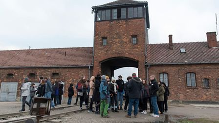 The main entrance to Auschwitz II (Birkenau) Picture: grahamsimages.com