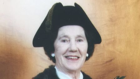 Gwen Tookey has passed away at the age of 96 (Pic: Brent Council)