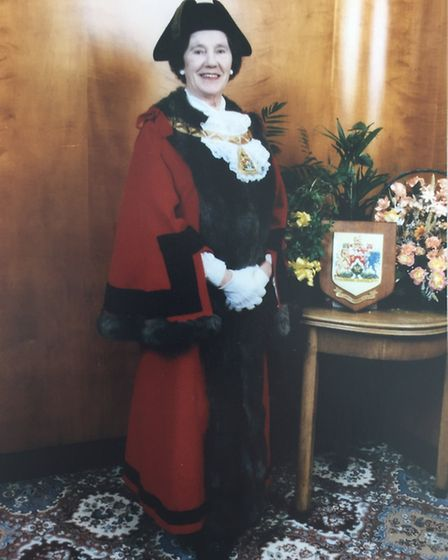 Mrs Tookey was the mayor of Brent in 1995 to 1996 (Pic: Brent Council)