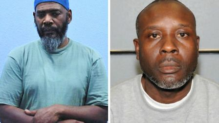 Rashad, left, and Cooper have been jailed for life