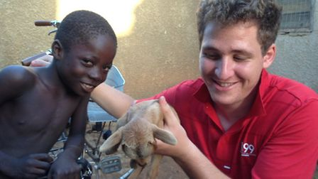 The medic provide medical care in Ghana (Pic: n-ghasaid.org)