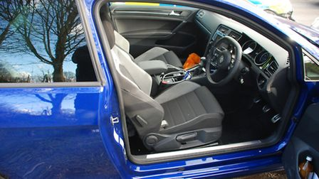 The drugs were found in this car