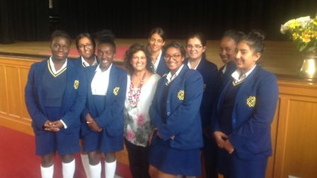 Tecaher Himakshi Patel and Convent of Jesus and Mary students have been working on a project to save