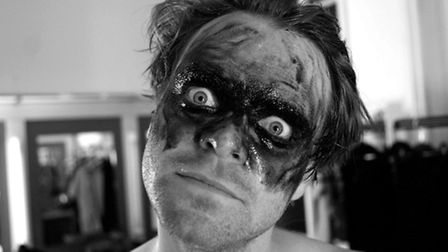 Dave Brown played Bollo in The Mighty Boosh. Picture: Dave Brown