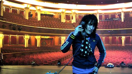 Noel Fielding in The Mighty Boosh. Picture: Dave Brown