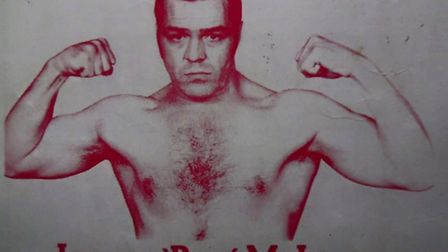 Lenny McLean fight poster