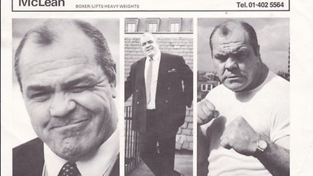 Lenny McLean's turned to acting later in life