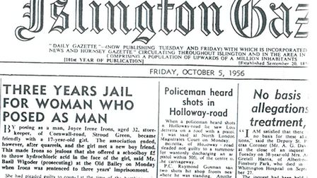 Islington Gazette: October 5, 1956