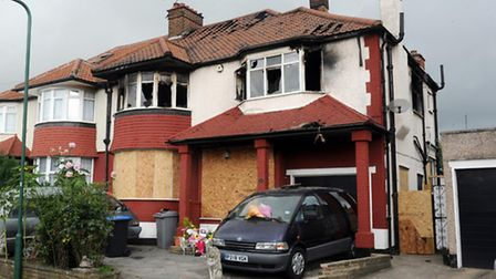 The fire in Sonia Gardens was caused by a faulty chest freezer (Pic credit: PA/Anthony Devlin)