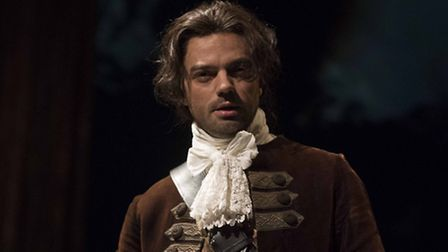 Dominic Cooper in The Libertine, Picture: Alastair Muir