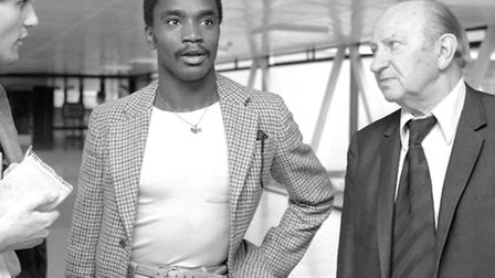 Laurie Cunningham in 1979. Picture: PA
