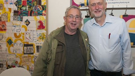 Jeremy Corbyn launches Enterprising People, a community programme at Outpost in Holloway Road. The I