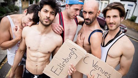 The run of Peter Darney's 5 Guys Chillin' at Edinburgh Fringe prompted many men to seek professional