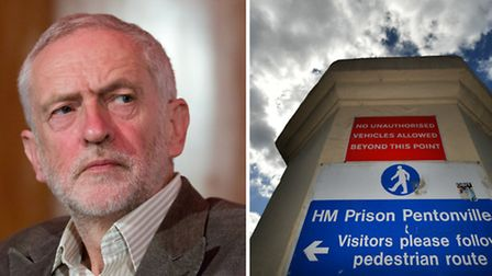 Labour leader Jeremy Corbyn called for better funding at Pentonville Prison after Jamal Mahmoud was