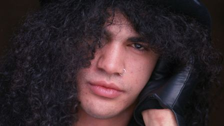 Guns n' Roses guitarist Slash, real name Saul Hudson, pictured in 1992. Picture: PA Archive/Fiona Ha