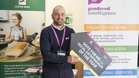 Jay Stewart, founder of Gendered Intelligence. Picture: onEdition