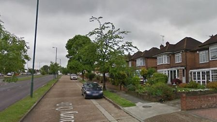 The victim was attacked in her home in Sudbury Court Drive (Pic: Google)
