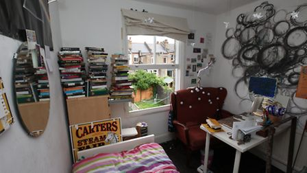 Bedroom belonging to Amber, aged 14, North London.Photography by Kyna Gourley