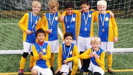 St Joan of Arc won the Islington Primary Schools' Years 3-4 Boys' Cup final