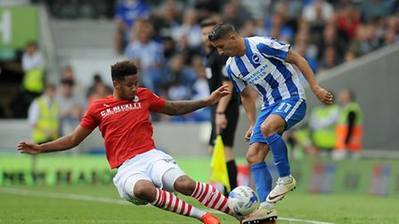 Barnsley's Cole Kpekawa (left) needed to get away from QPR, according to Rs boss Jimmy Floyd Hasselb