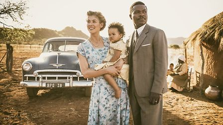 Oyelowo and Pike star in A United Kingdom directed by Amma Asante