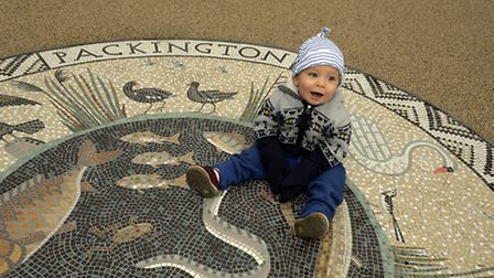 Canalside Square includes a mosaic by Islington artist Tessa Hunkin. Picture: Hyde