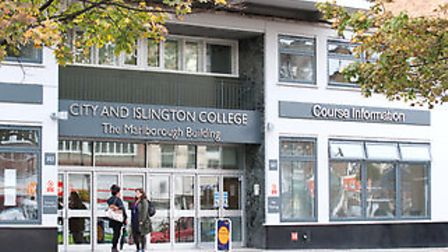 City and Islington College in Holloway Road.