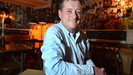 Wesley Deaton, general manager of The Alma, Newington Green. Picture: Polly Hancock