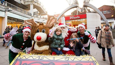 Angel Central kick-starts Islington's festive season with free family events on November 19. Picture