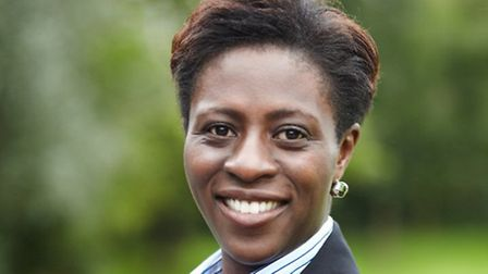 Diana Osagie, head teacher of Arts and Media School, Islington, which is at risk of losing 17 teache
