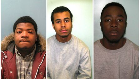 Onafowokan, Tudor and Williams have been convicted of wounding with intent