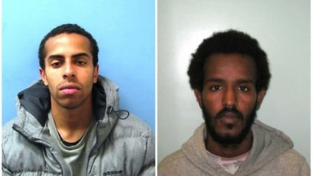 Tudor and Afrah have been convicted of conspiracy to commit violent disorder