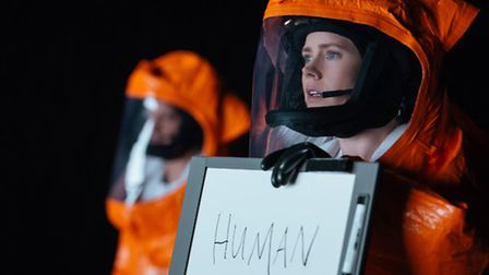 Amy Adams as Louise Banks in ARRIVAL. Picture: Jan Thjis/Paramount Pictures