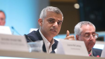 Sadiq Khan, Mayor of London, held his first People's Question Time in Wembley