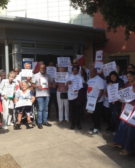 Patients stage virtual occupation of Sudbury Primary Care Practice so their doctor's contract not pa