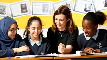 Staff and students at Highbury Fields received an outstanding Ofsted report last week.