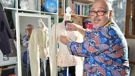 Andy Piccos, owner of Stitchin Business in Thane Villas, Holloway. Picture: Polly Hancock